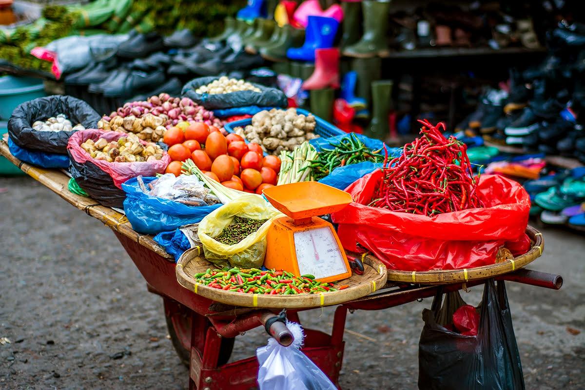 Image result for bali market food