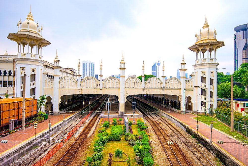 Kuala Lumpur Railway Station_architecture