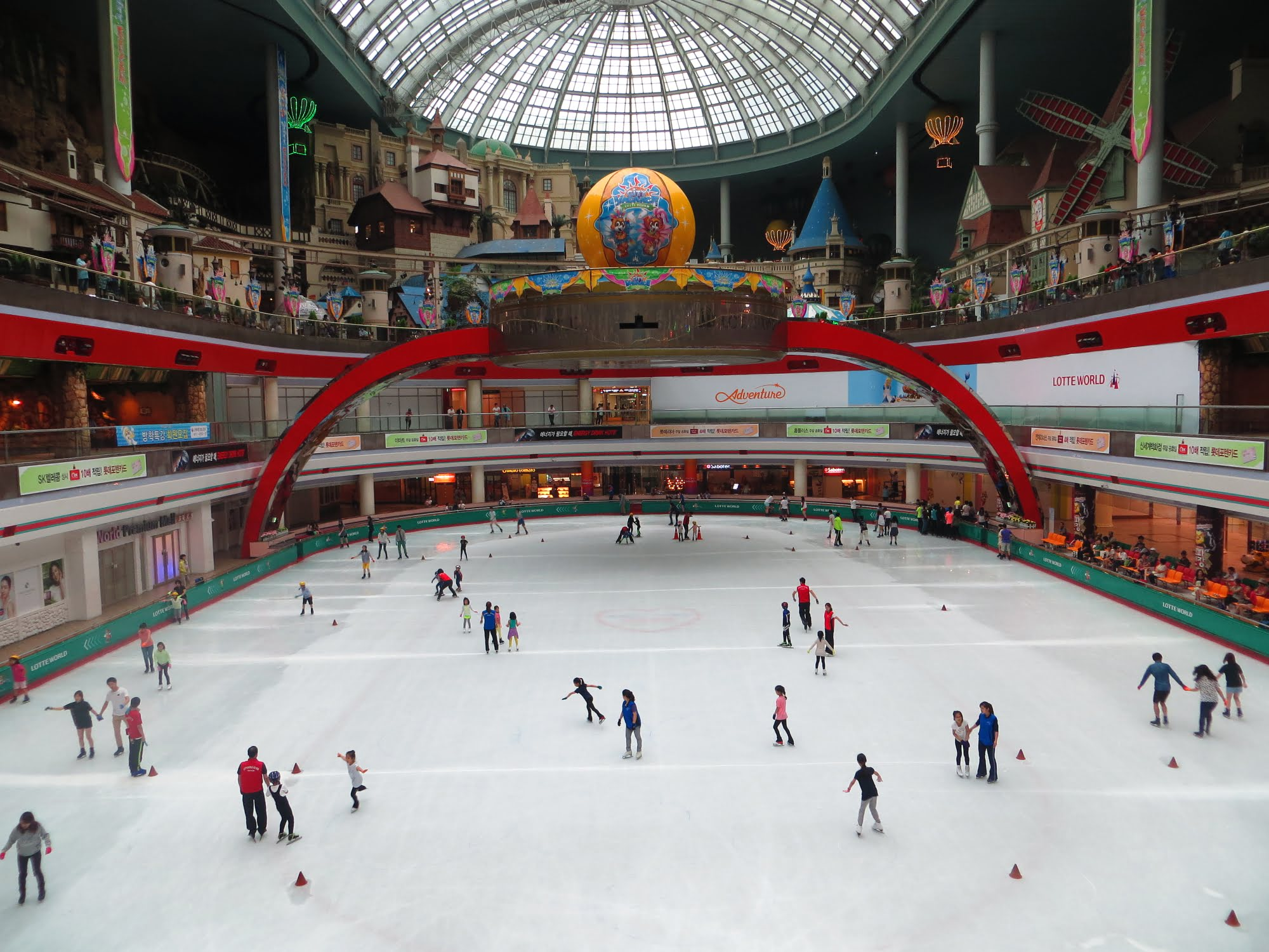 Lotte World_ice skating