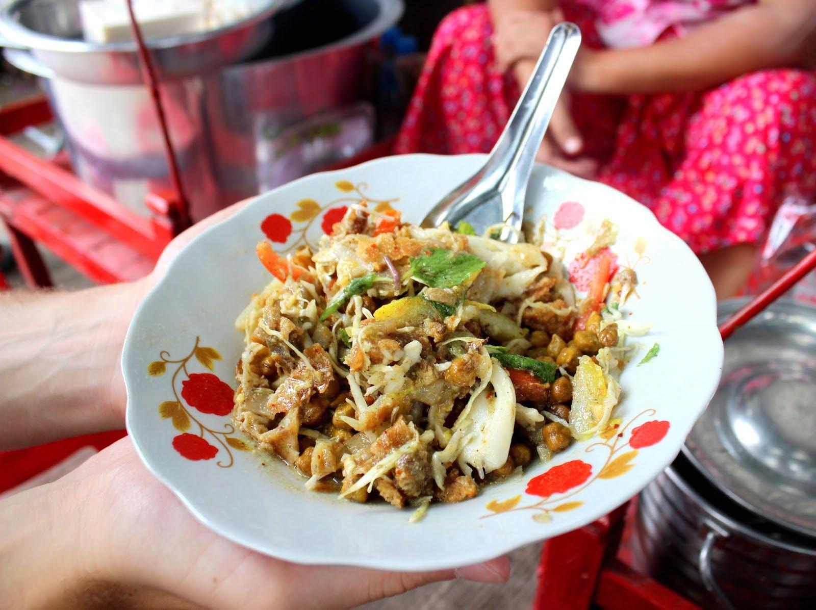 6 Scrumptious Burmese Salads & Places to Visit in Myanmar