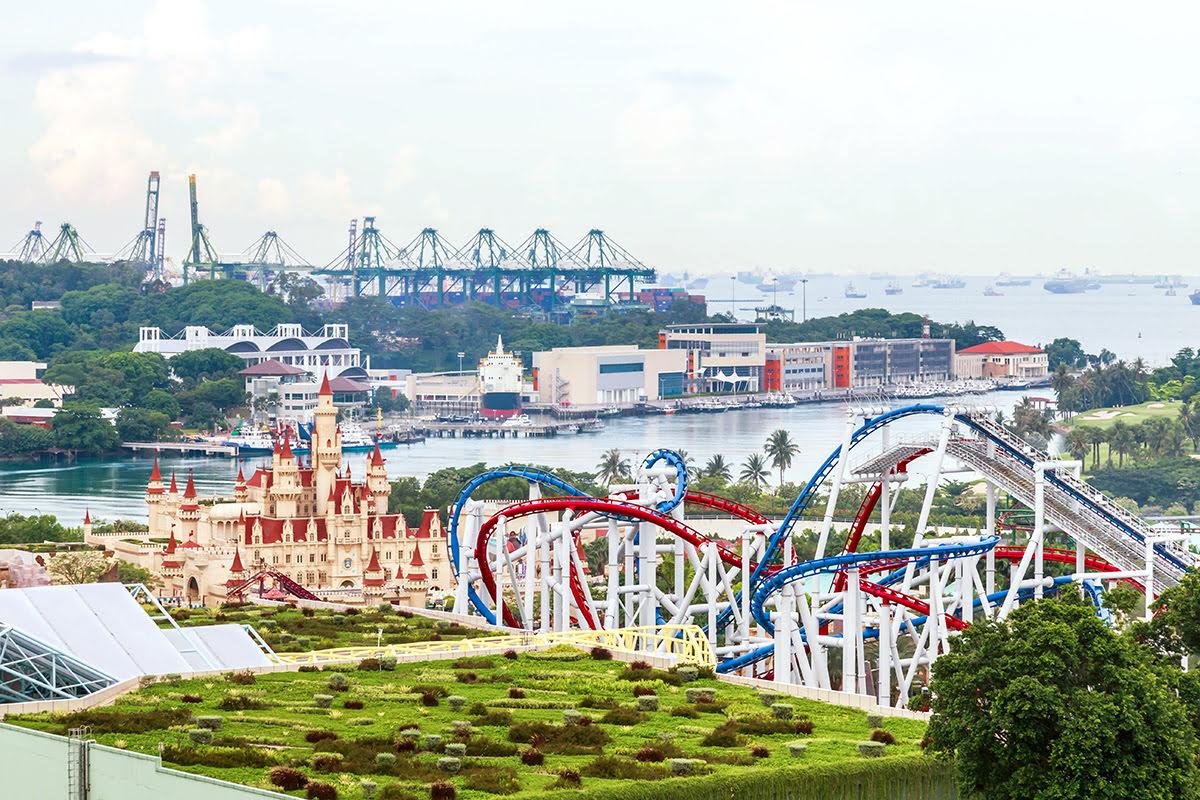 Sentosa Island_Resorts World Sentosa_Singapore