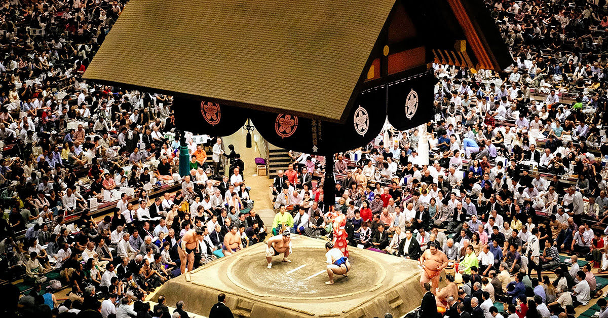 March Grand Tournament_sumo wrestling_Osaka_Japan_best time to visit Osaka