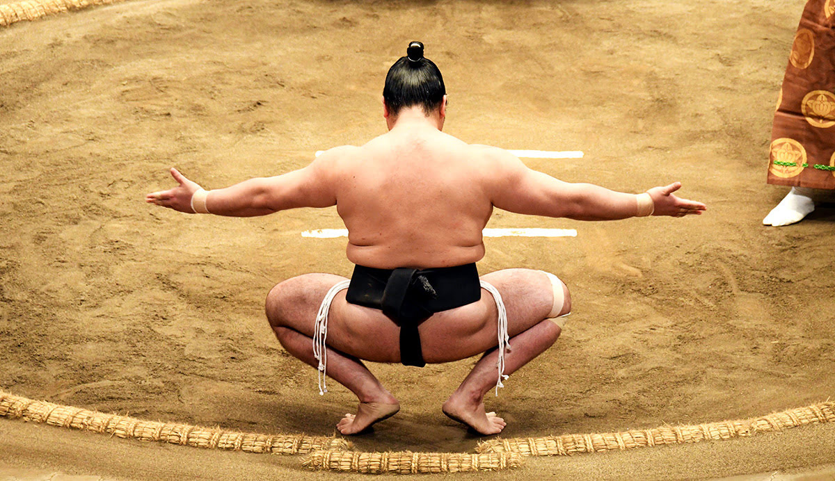 Sumo wrestler_Osaka_Japan_best time to visit Osaka