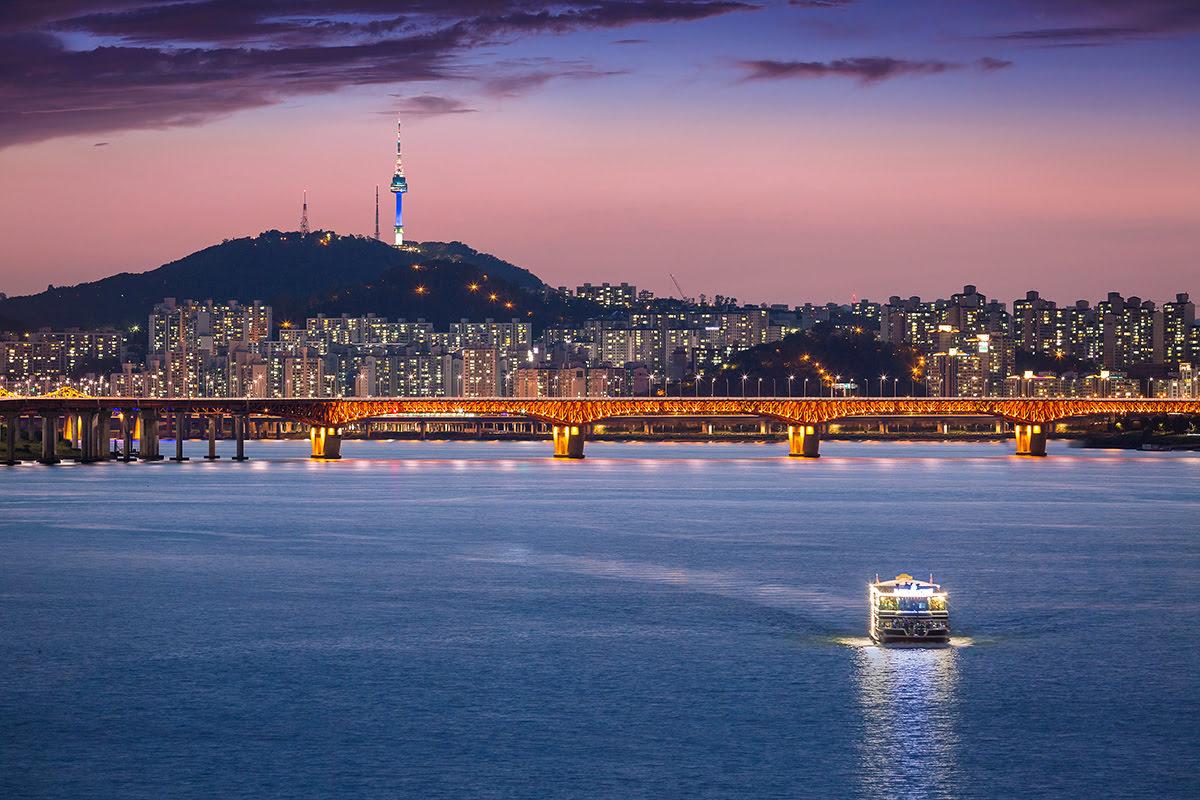 Hongdae_Han River_Hongik University Seoul Campus