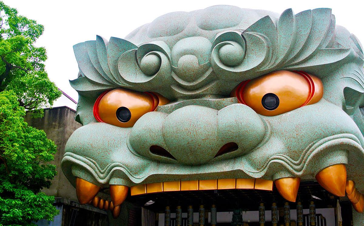 Nambayasaka Shrine_Hozenji Temple_Osaka_Japan