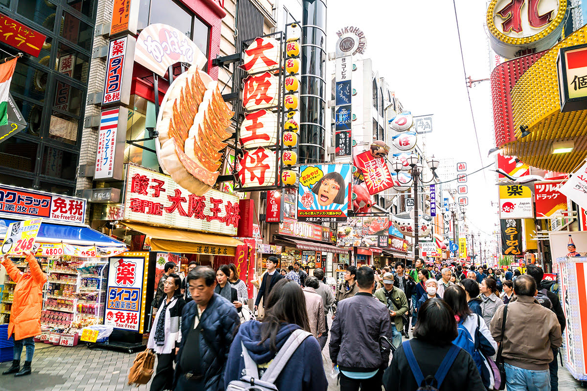 Best restaurants in Osaka_Japanese street food_Kuromon Ichiba Market