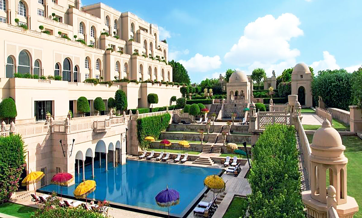 hotels with hot tubs-The Oberoi Amarvilas-Agra-India